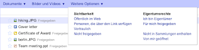 Google Text und Tabellen Sortierfunktionen