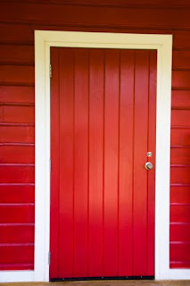 Red uPVC Front Doors