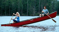 Shallow Hal canoeing