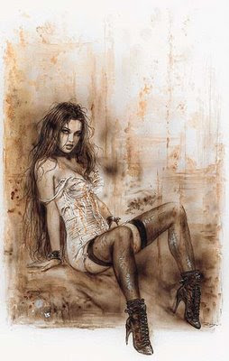 Gothic Girl, de Luis Royo, grande desenhista de HQ