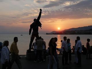 Freddie Mercury's Statue in Montreux