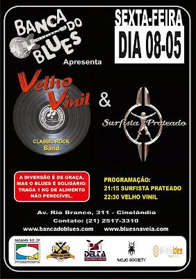 Banca do Blues apresenta duas bandas