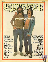 Loggins & Messina na capa da revista Rolling Stone