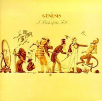 capa do album Trick of the Tail, do Genesis