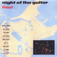 Night Of The Guitar, gravado ao vivo no Hammersmith Odeon, em Londres, dia 26 de novembro de 1988