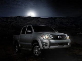 A picape Hilux da Toyota é a mais vendida no Brasil