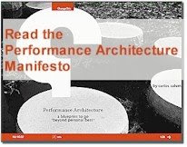 Performance Architecture Manifesto