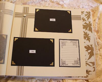 Wedding scrapbook ablum
