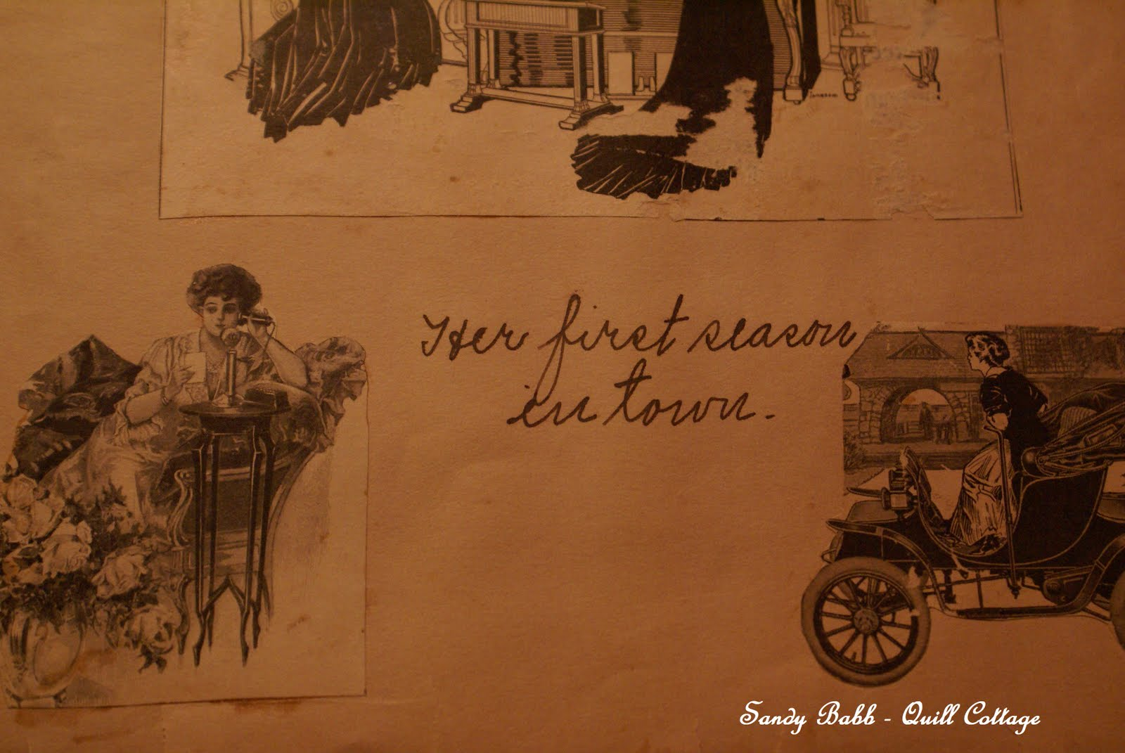 Quill Cottage: SCRAPBOOK OF A YOUNG VICTORIAN GIRL'S DREAMS...