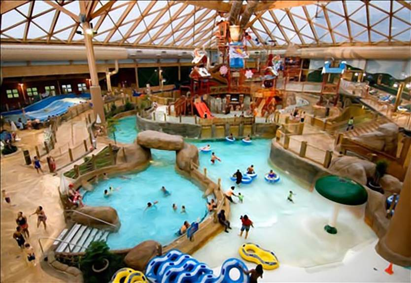 Picture Frenzy: Indoor Water Parks: Wilderness Territory Waterpark ...