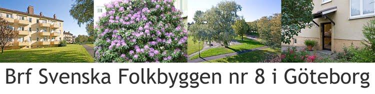 Brf Svenska Folkbyggen nr 8 i Göteborg