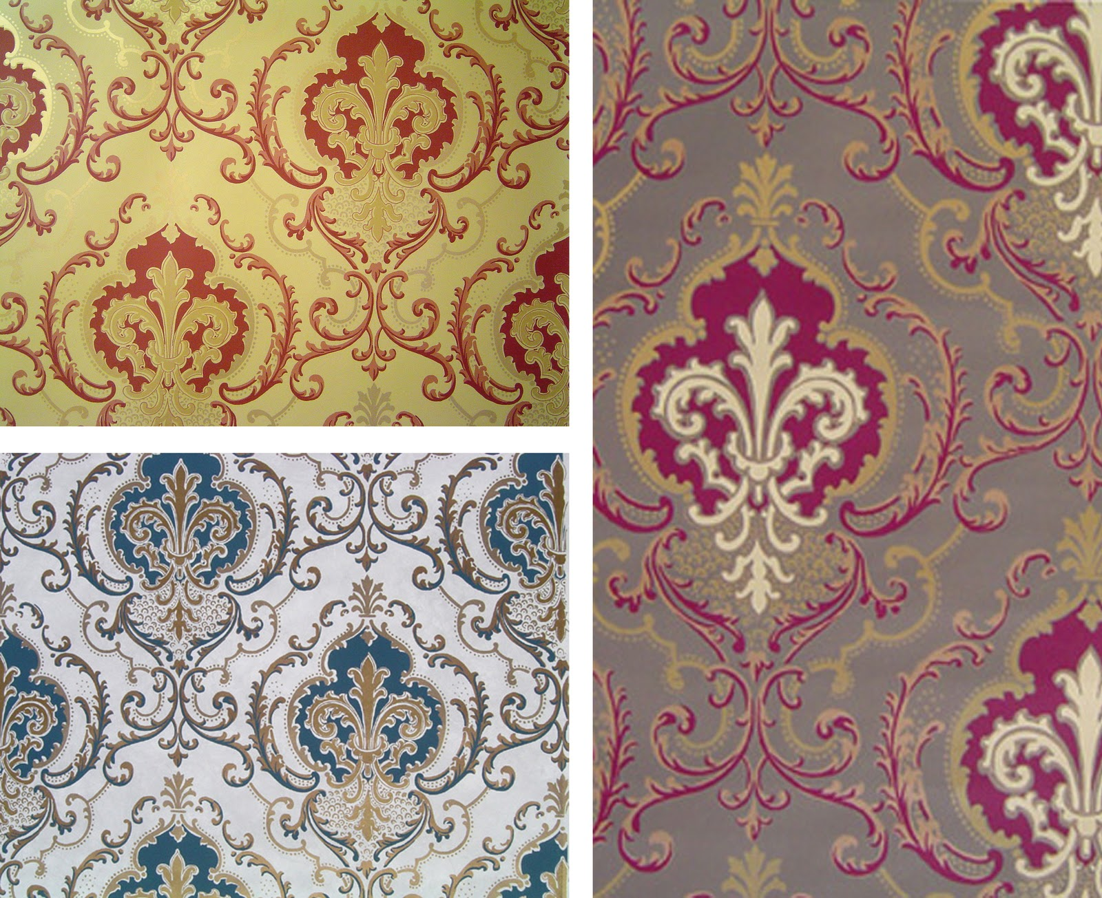 Shaker baroque motifs - Motif tapisserie ...