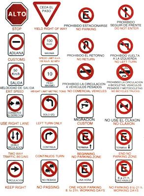señales de tránsito 1