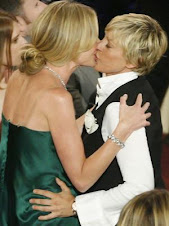 Ellen and Portia TIED the knot!