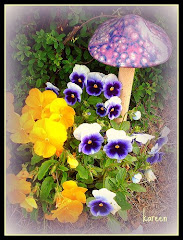 A Trail of Pansies