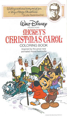Here Is One Page Of Perhaps The Most Recognizable Scene From Mickeys Christmas Carol That Sure To Keep Your Pint Sized Artists Occupied While You Shop