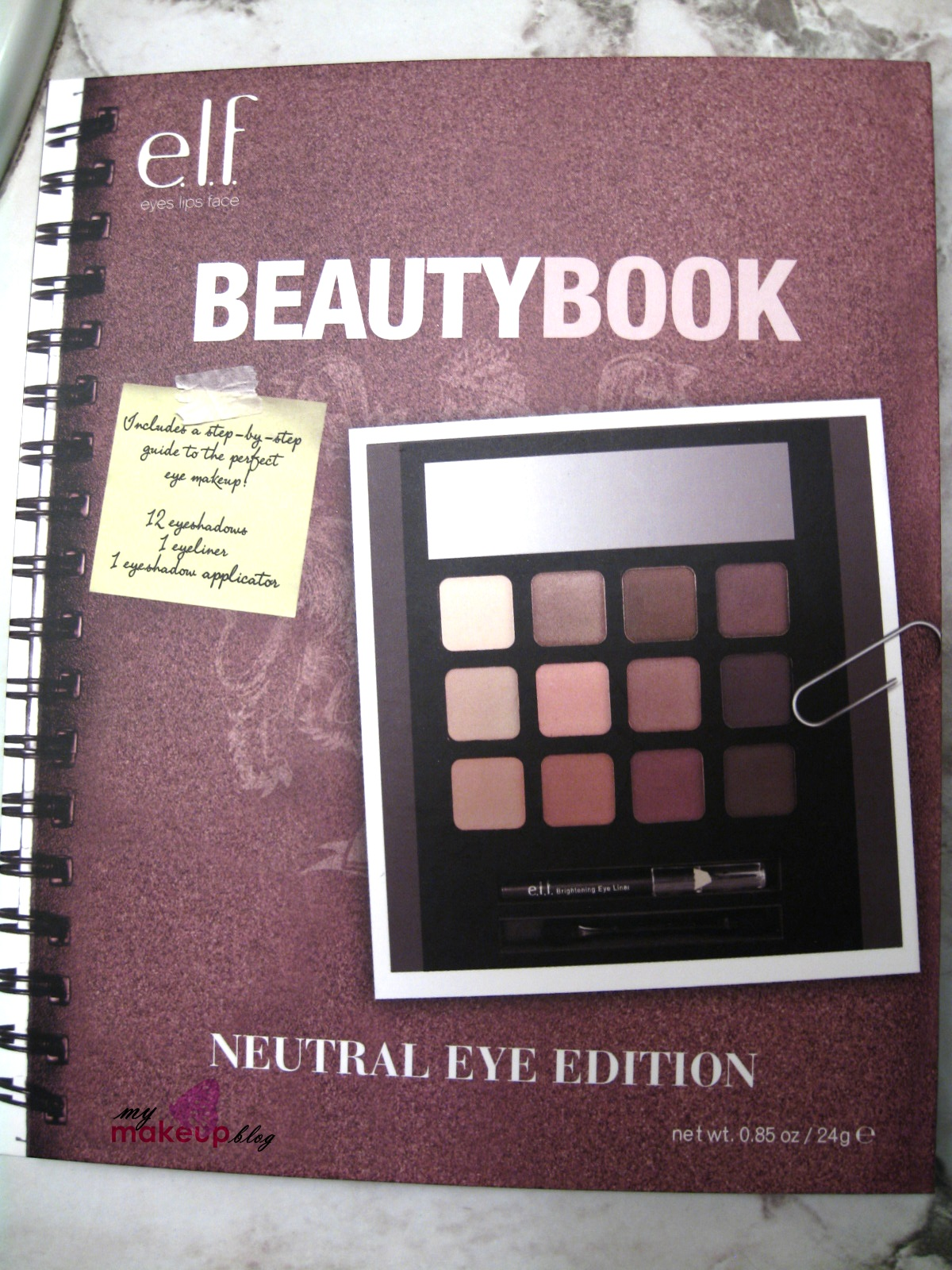 Elf beauty book neutral eye edition