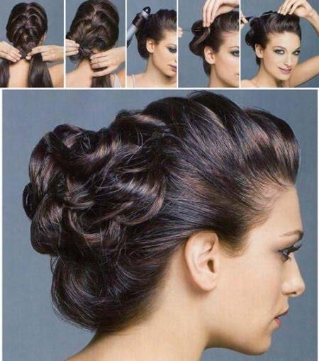 Свадебная Прическа На Средние Волосы Своими Руками Пошаговая Инструкция