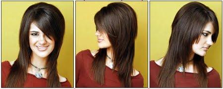 Corte extension en pelo corto