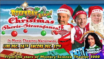 Saturday Night Crap-o-Rama: RIFFTRAX LIVE CHRISTMAS SHORTS ...