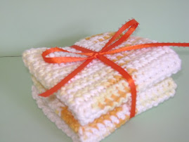 Fall colored wash cloths