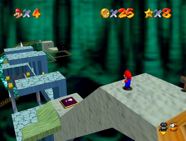 Mario 64 Level