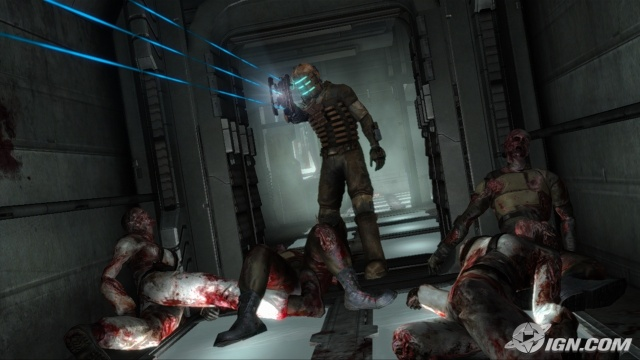 Isaac Clarke in Dead Space