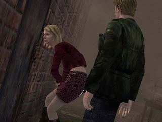 James and Maria in Silent Hill 2