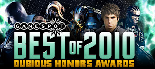 Gamespot Dubious Honours Awards