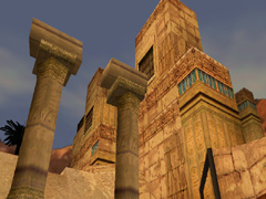 The Temple of Karnak in Tomb Raider: The Last Revelation