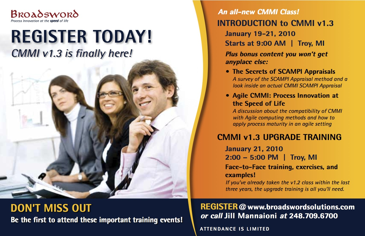 cmmi training hints and tips  cmmi training class