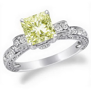 Canary Diamond Engagement Rings on Canary Diamond Engagement Rings   Weddings Rings Store