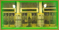 Pintu Makam Rasulullah Muhammad SAW di Madinah