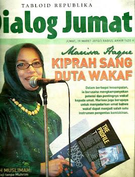 Tugasku sebagai Duta Waqf Fund Indonesia