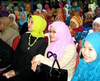 Fatayat NU Tangsel Mendukung Bunda Marissa Haque Fawzi