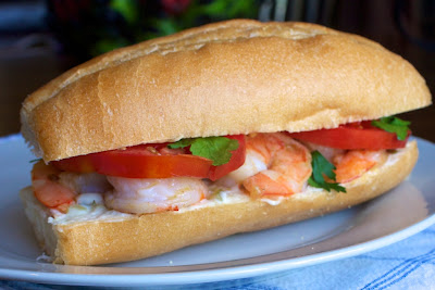 shrimp+po+boys Shrimp Po Boys