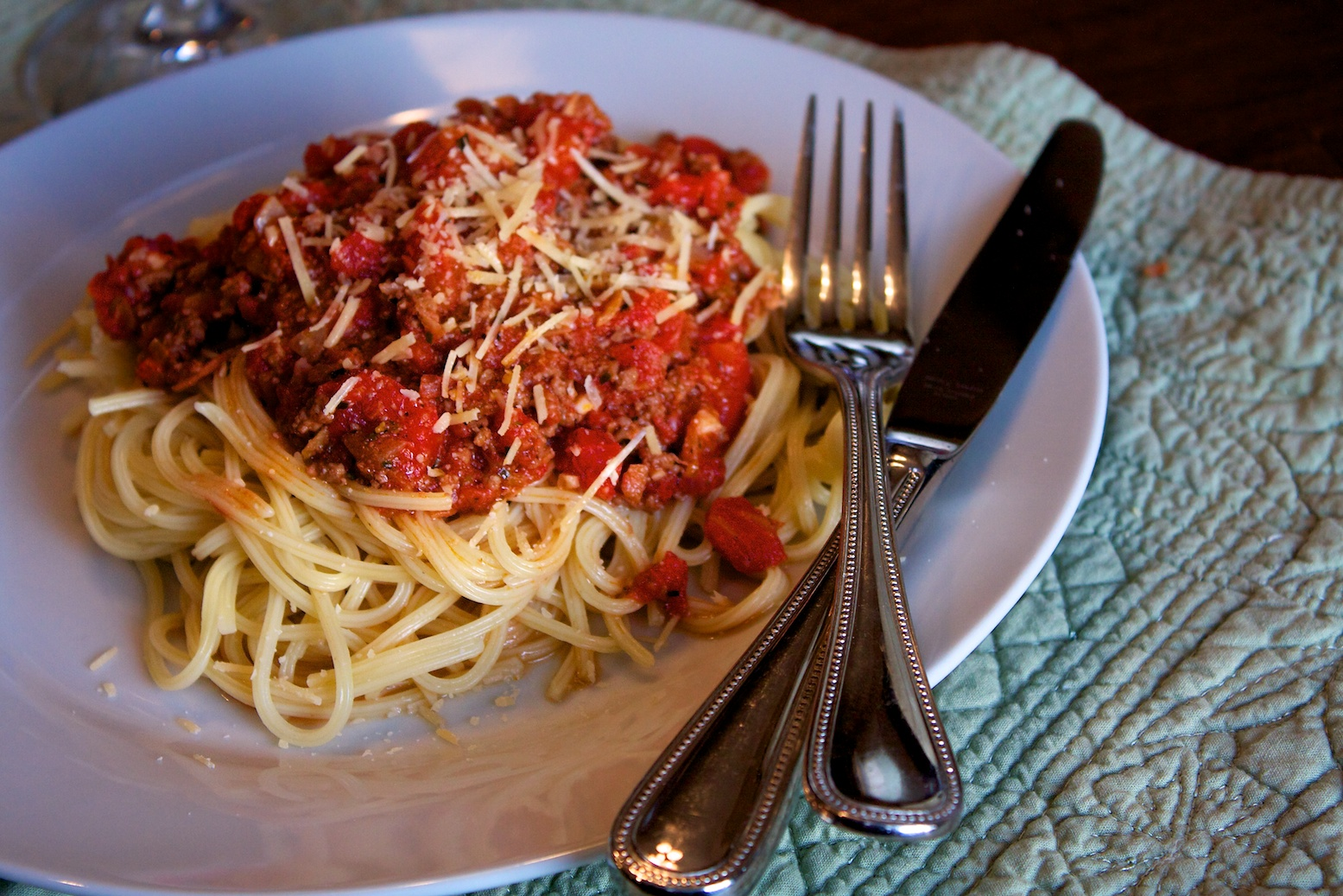 bolognese Spaghetti with Bolognese Sauce