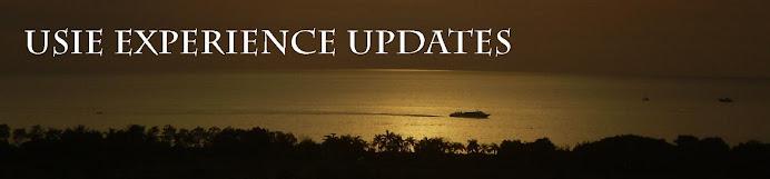 USIE Experience Updates