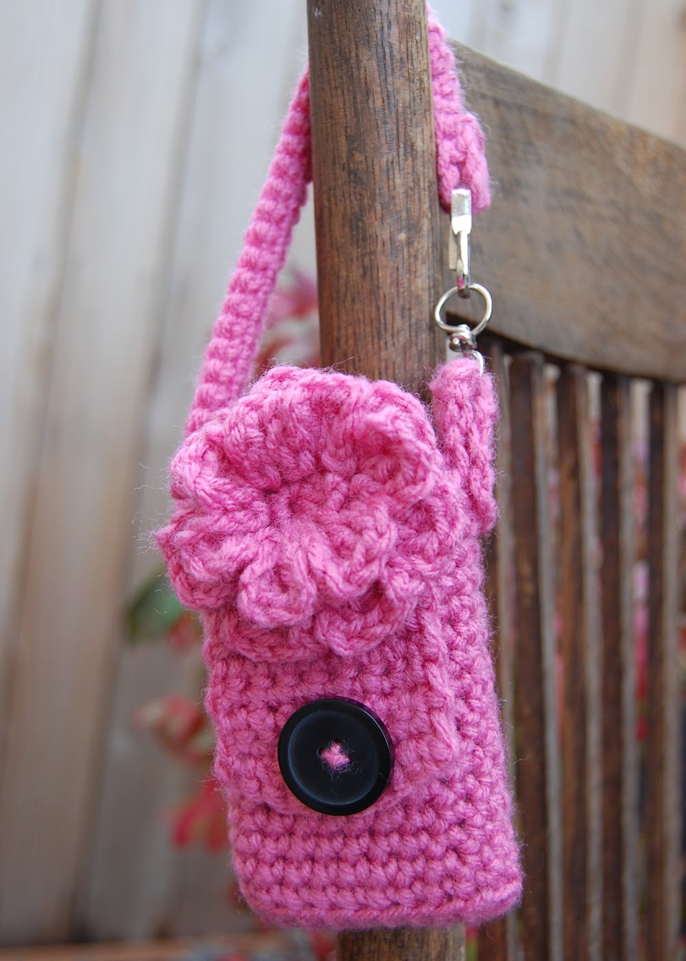 Adorable Cell Phone Case Crochet Cell Phone Cozy by DonidoDesigns