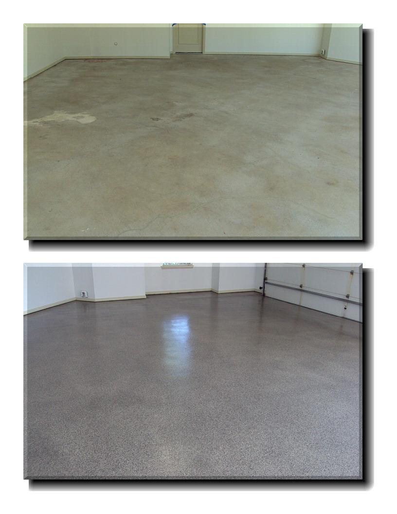 Epoxy floor coatings garage floor coating for Versatile garage floors