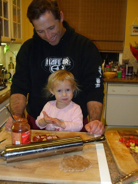 Julia and Dad Cooking
