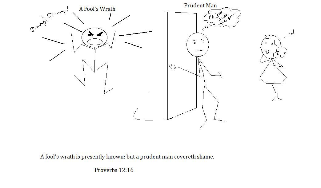 Entrance of Thy Words: Proverbs in Cartoon