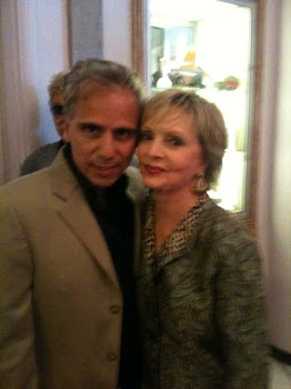 Herbie J Pilato and Florence Henderson