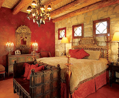 Decor to adore day 11 spanish colonial interiors for Colonial bedroom decor