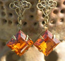 LUSCIOUS MADIERA TOPAZ DIAMOND CRYSTALS