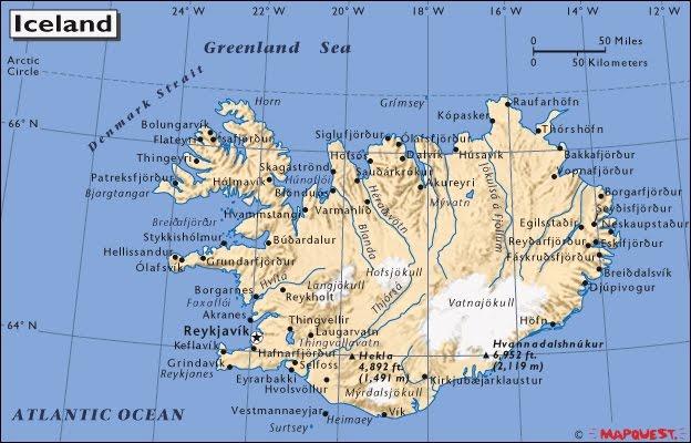 Islanda, ishulli ku përleshet zjarri me akullin