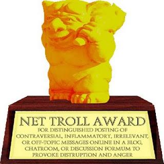 ¡Nos han nominado en los premios de Elche Juega! Golden+Internet+Troll+Award