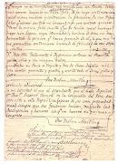 . le será entregado al General de la República Argentina , Don Juan Manuel . san martin testamento