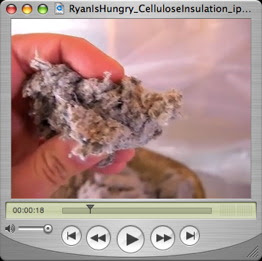Cheap and Green Insulation: Recycled Paper Cellulose