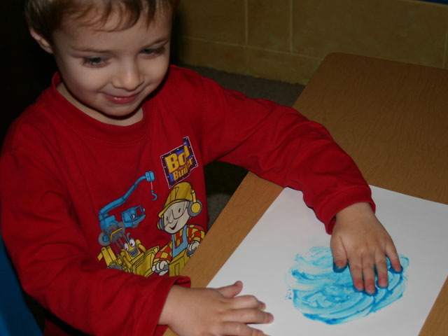 Recipe for fingerpaint